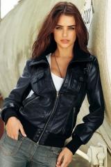 Куртка кожаная модель Alisa